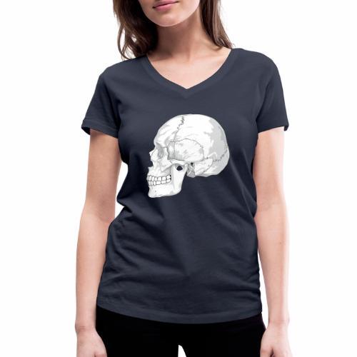 Schädel - Frauen Bio-T-Shirt mit V-Ausschnitt von Stanley & Stella
