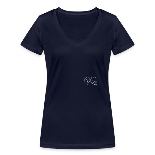 KXGlogo png - Vrouwen bio T-shirt met V-hals van Stanley & Stella