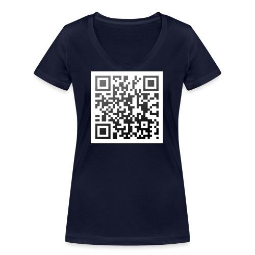 Ich hab Augen - Frauen Bio-T-Shirt mit V-Ausschnitt von Stanley & Stella