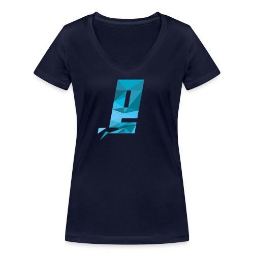 Eventuell Logo small - Shirt White - Frauen Bio-T-Shirt mit V-Ausschnitt von Stanley & Stella