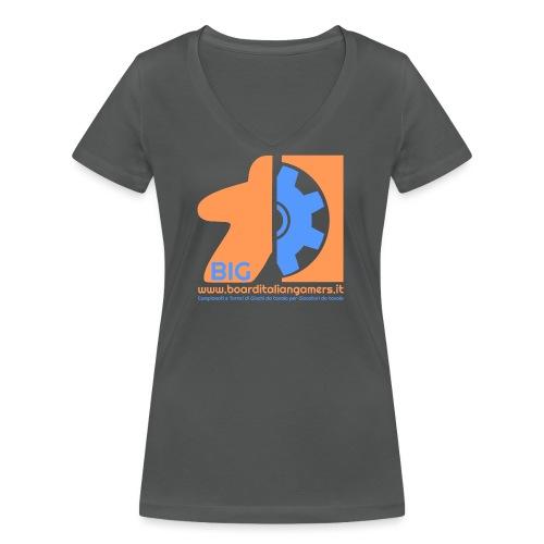 BIG - T-shirt ecologica da donna con scollo a V di Stanley & Stella