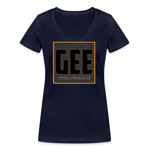 LOGOTSHIRT - Økologisk Stanley & Stella T-shirt med V-udskæring til damer