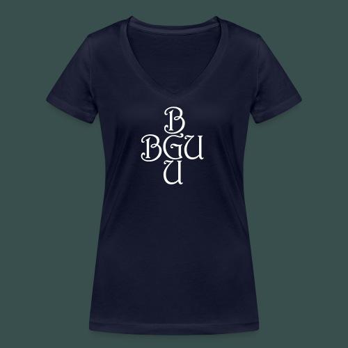 BGU - Frauen Bio-T-Shirt mit V-Ausschnitt von Stanley & Stella