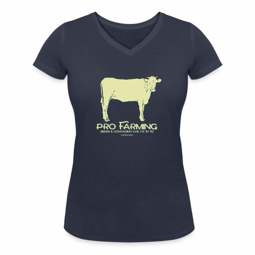 PRO Farming - T-shirt ecologica da donna con scollo a V di Stanley & Stella