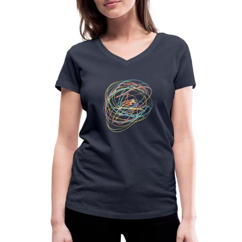 Change Direction - Women's Organic V-Neck T-Shirt by Stanley & Stella
