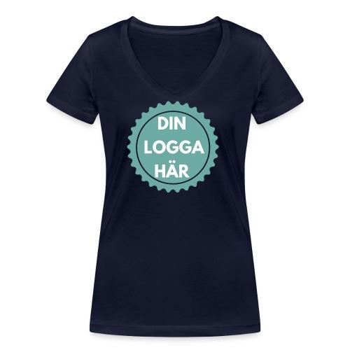 Egen Logga - Ekologisk T-shirt med V-ringning dam från Stanley & Stella