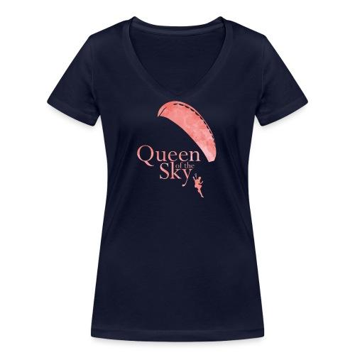 Queen of the Sky - Frauen Bio-T-Shirt mit V-Ausschnitt von Stanley & Stella