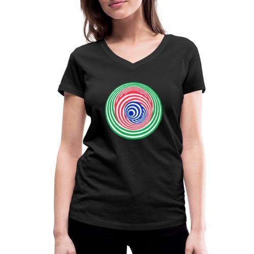 Tricky - Women's Organic V-Neck T-Shirt by Stanley & Stella