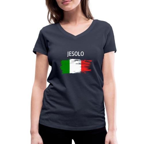 Jesolo Fanprodukte - Frauen Bio-T-Shirt mit V-Ausschnitt von Stanley & Stella