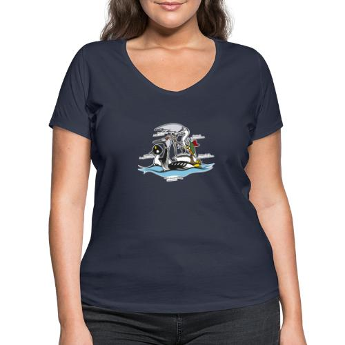 Birds of a Feather - Women's Organic V-Neck T-Shirt by Stanley & Stella
