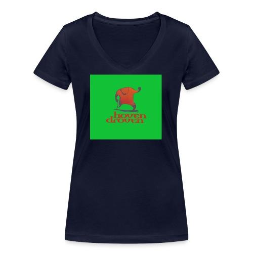 Slentbjenn Knapp - Women's Organic V-Neck T-Shirt by Stanley & Stella