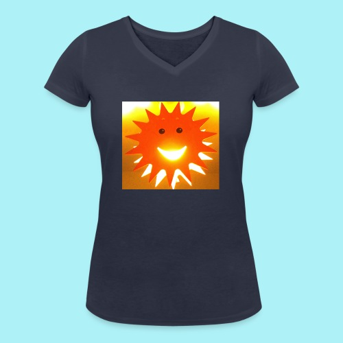 Soleil Souriant - T-shirt bio col V Stanley & Stella Femme