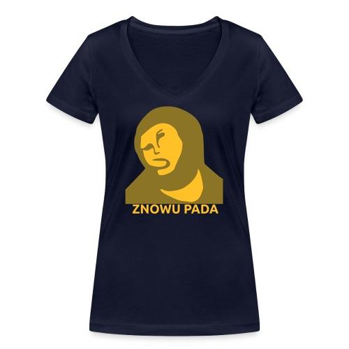 Znowu pada Jeżus z Borja - Ekologiczna koszulka damska z dekoltem w serek Stanley & Stella