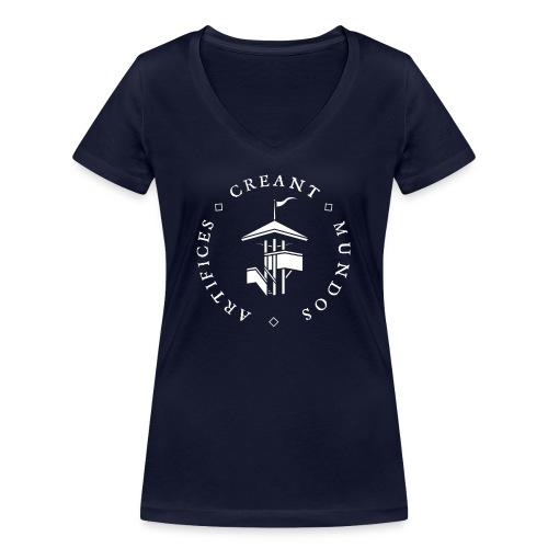 IKAPAITA - Stanley & Stellan naisten v-aukkoinen luomu-T-paita