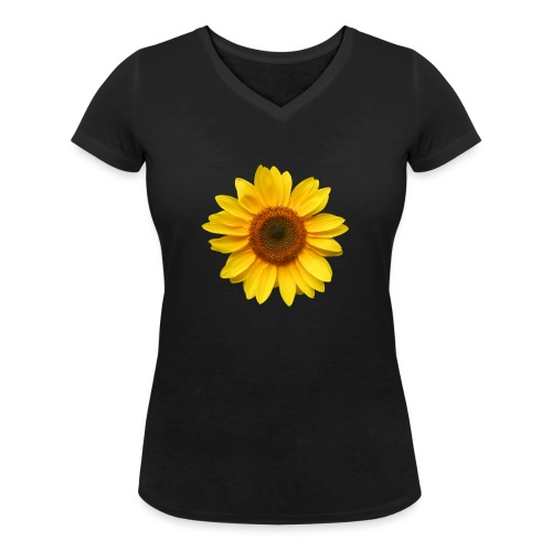 Du bist der Sonnenschein! - Frauen Bio-T-Shirt mit V-Ausschnitt von Stanley & Stella