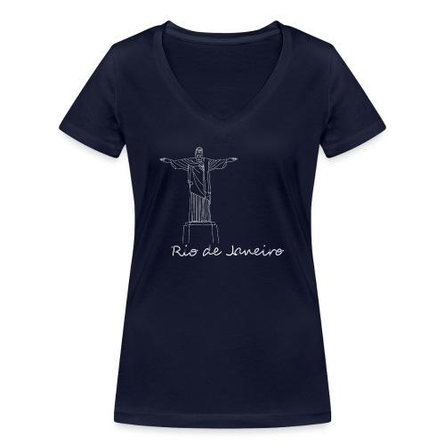 Rio de Janeiro - T-shirt ecologica da donna con scollo a V di Stanley & Stella