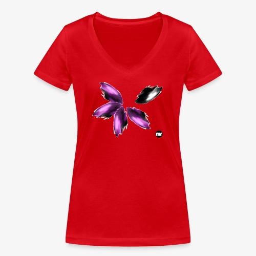 Sembran petali ma è l'aurora boreale - T-shirt ecologica da donna con scollo a V di Stanley & Stella