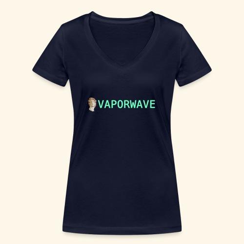Roman Statue Vaporwave - T-shirt bio col V Stanley & Stella Femme