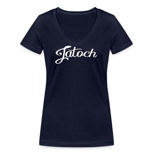 Jatoch - Vrouwen bio T-shirt met V-hals van Stanley & Stella