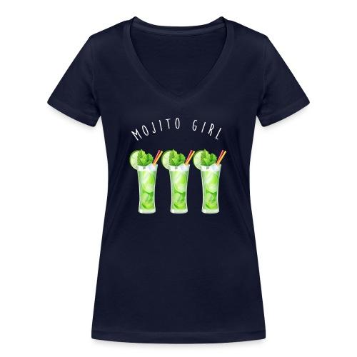 mojito girl - T-shirt bio col V Stanley & Stella Femme