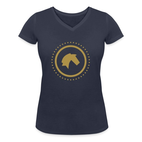 Der Hannoveraner - Frauen Bio-T-Shirt mit V-Ausschnitt von Stanley & Stella