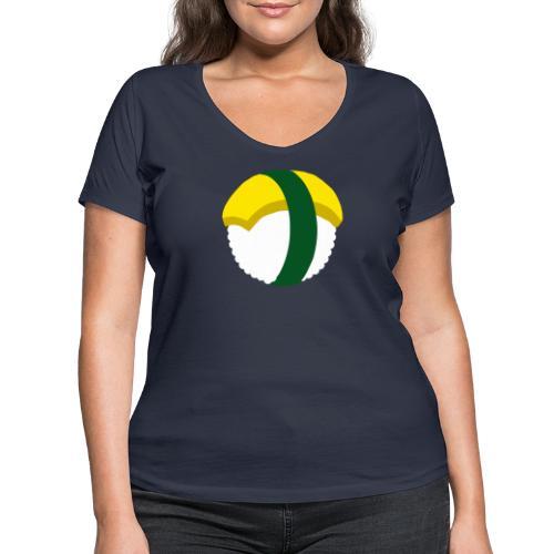 SUSHI TAMAGO - T-shirt bio col V Stanley & Stella Femme