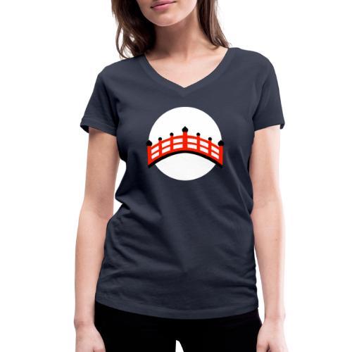 HASHI - T-shirt bio col V Stanley & Stella Femme