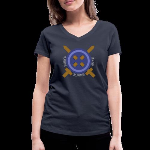 LA GUERRE DES BOUTONS - T-shirt bio col V Stanley & Stella Femme