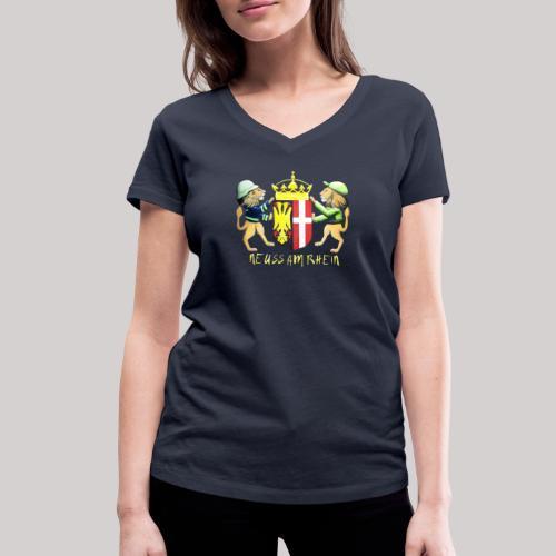 Neuss am Rhein - Frauen Bio-T-Shirt mit V-Ausschnitt von Stanley & Stella