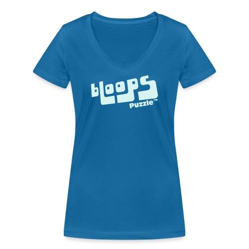 Women's Organic Tank Top bLoops Puzzle™ - Vrouwen bio T-shirt met V-hals van Stanley & Stella