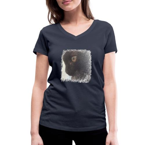chat - T-shirt bio col V Stanley & Stella Femme