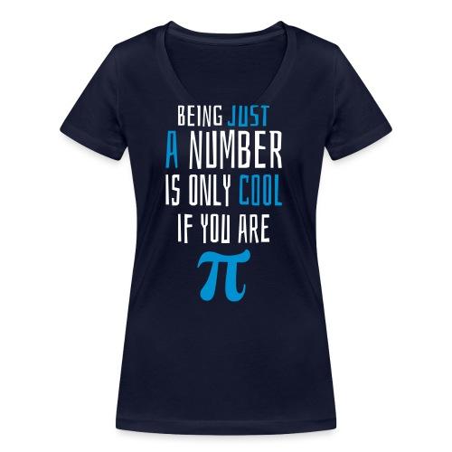 Zahl Pi Geek Spruch - Frauen Bio-T-Shirt mit V-Ausschnitt von Stanley & Stella
