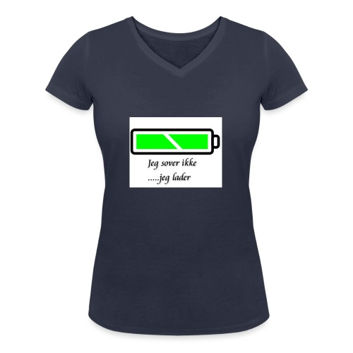 lader_2 - Økologisk T-skjorte med V-hals for kvinner fra Stanley & Stella