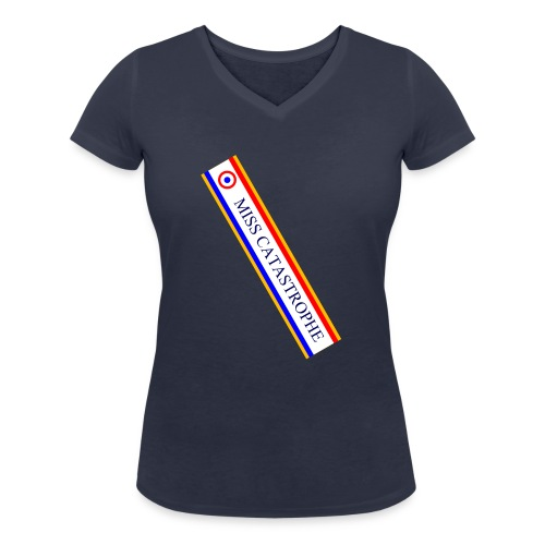 Miss Catastrophe - T-shirt bio col V Stanley & Stella Femme