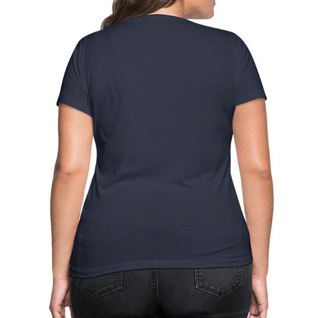 Vorschau: Klassiker Sprüche - Frauen Bio-T-Shirt mit V-Ausschnitt von Stanley & Stella