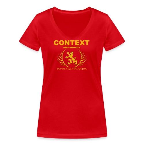 Context - Women's Organic V-Neck T-Shirt by Stanley & Stella