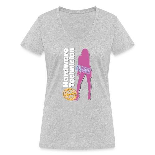 Hardware Technician - T-shirt ecologica da donna con scollo a V di Stanley & Stella