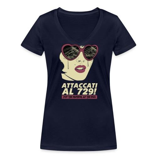 729 copy 2 - T-shirt ecologica da donna con scollo a V di Stanley & Stella