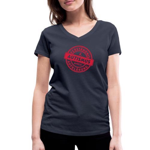 Verständnis durch Aufklärung - Frauen Bio-T-Shirt mit V-Ausschnitt von Stanley & Stella