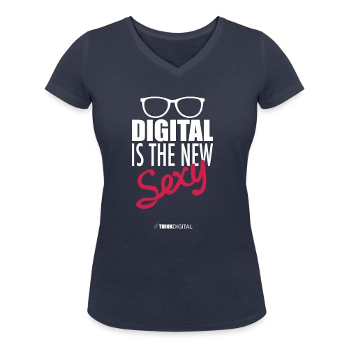 DIGITAL is the New Sexy - Lady - T-shirt ecologica da donna con scollo a V di Stanley & Stella