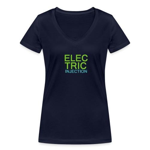 ELECTRIC INJECTION basic - Frauen Bio-T-Shirt mit V-Ausschnitt von Stanley & Stella