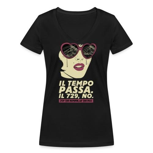 729 copy 4 - T-shirt ecologica da donna con scollo a V di Stanley & Stella