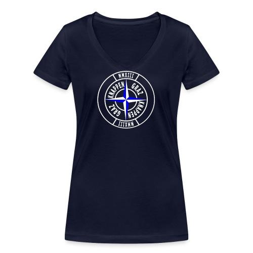 logo17 2013 png - Frauen Bio-T-Shirt mit V-Ausschnitt von Stanley & Stella