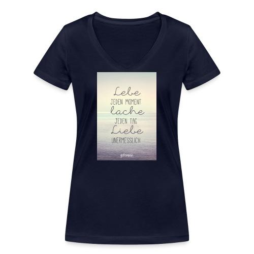 Damen Shirt - Frauen Bio-T-Shirt mit V-Ausschnitt von Stanley & Stella
