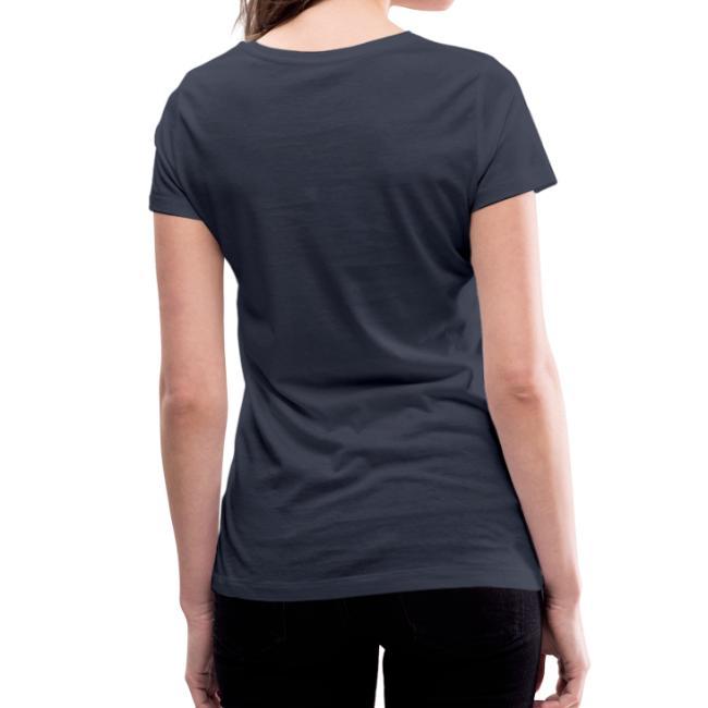 Vorschau: I bin die leiwaunde Tant - Frauen Bio-T-Shirt mit V-Ausschnitt von Stanley & Stella