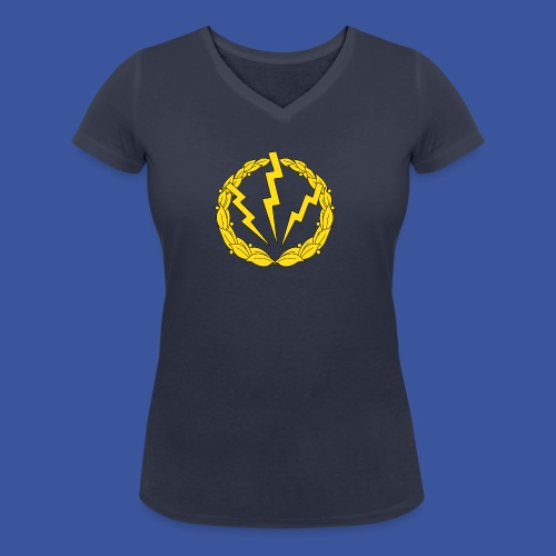 RLC Stor logotype - Ekologisk T-shirt med V-ringning dam från Stanley & Stella