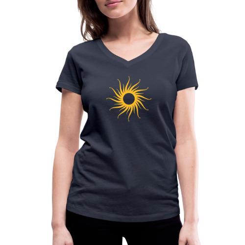 Beautiful Sun - Frauen Bio-T-Shirt mit V-Ausschnitt von Stanley & Stella