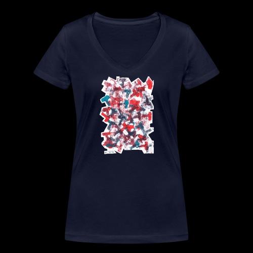 Color T BY TAiTO - Stanley & Stellan naisten v-aukkoinen luomu-T-paita