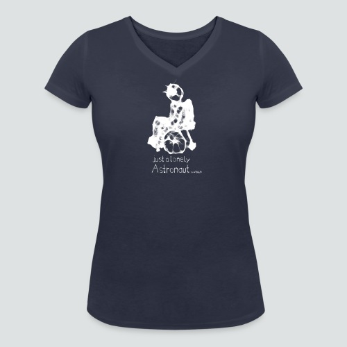 Rollinaut png - Frauen Bio-T-Shirt mit V-Ausschnitt von Stanley & Stella