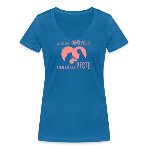 Vorschau: Als ich eine Hand suchte - Frauen Bio-T-Shirt mit V-Ausschnitt von Stanley & Stella